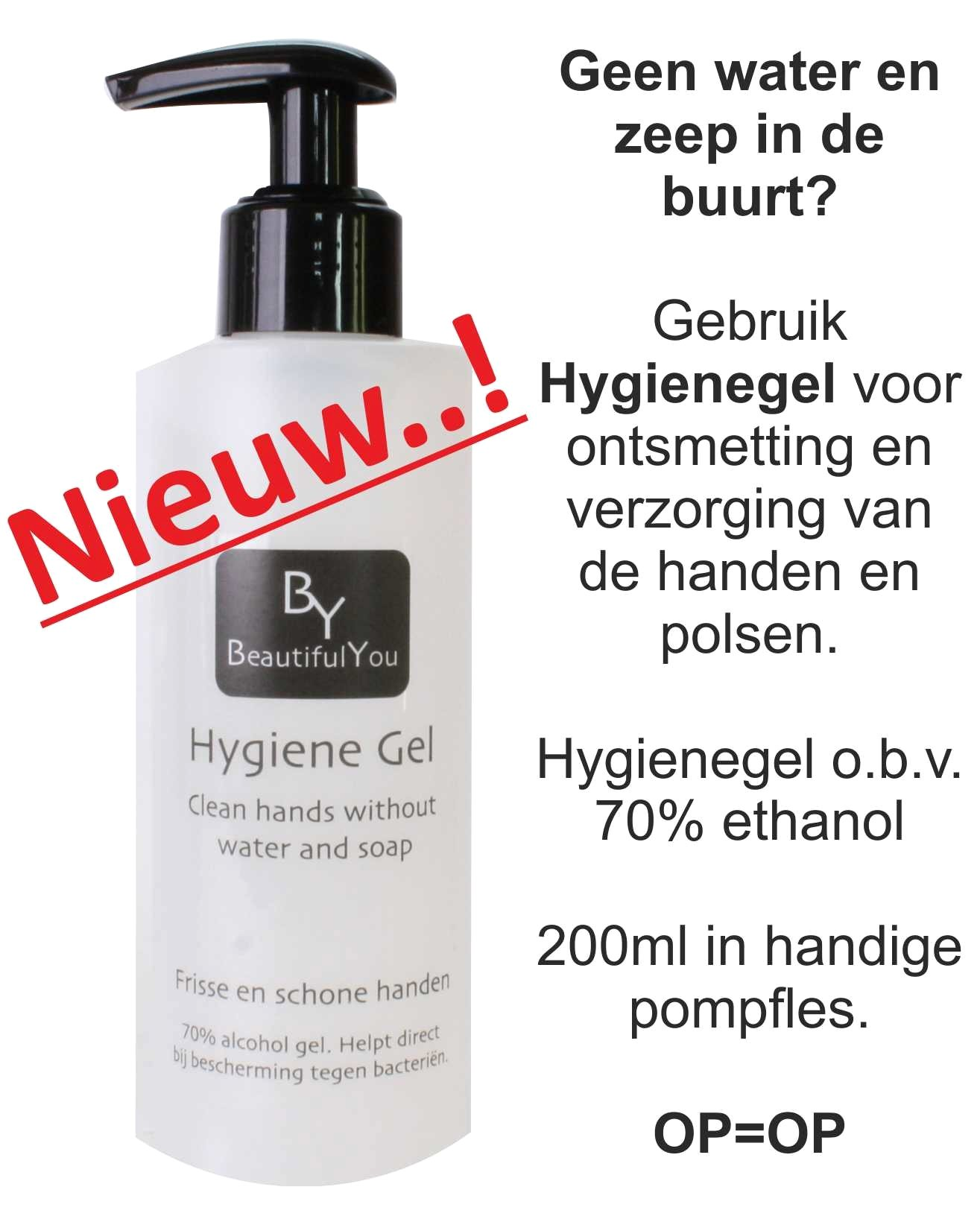 By HygieneGel 200ml