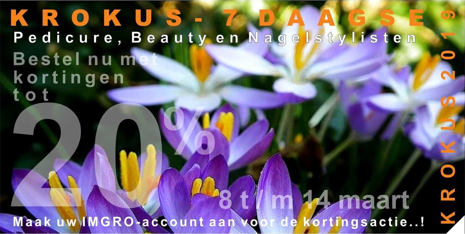 Profiteer van de KROKUS 6 daagse bij IMGRO Beauty