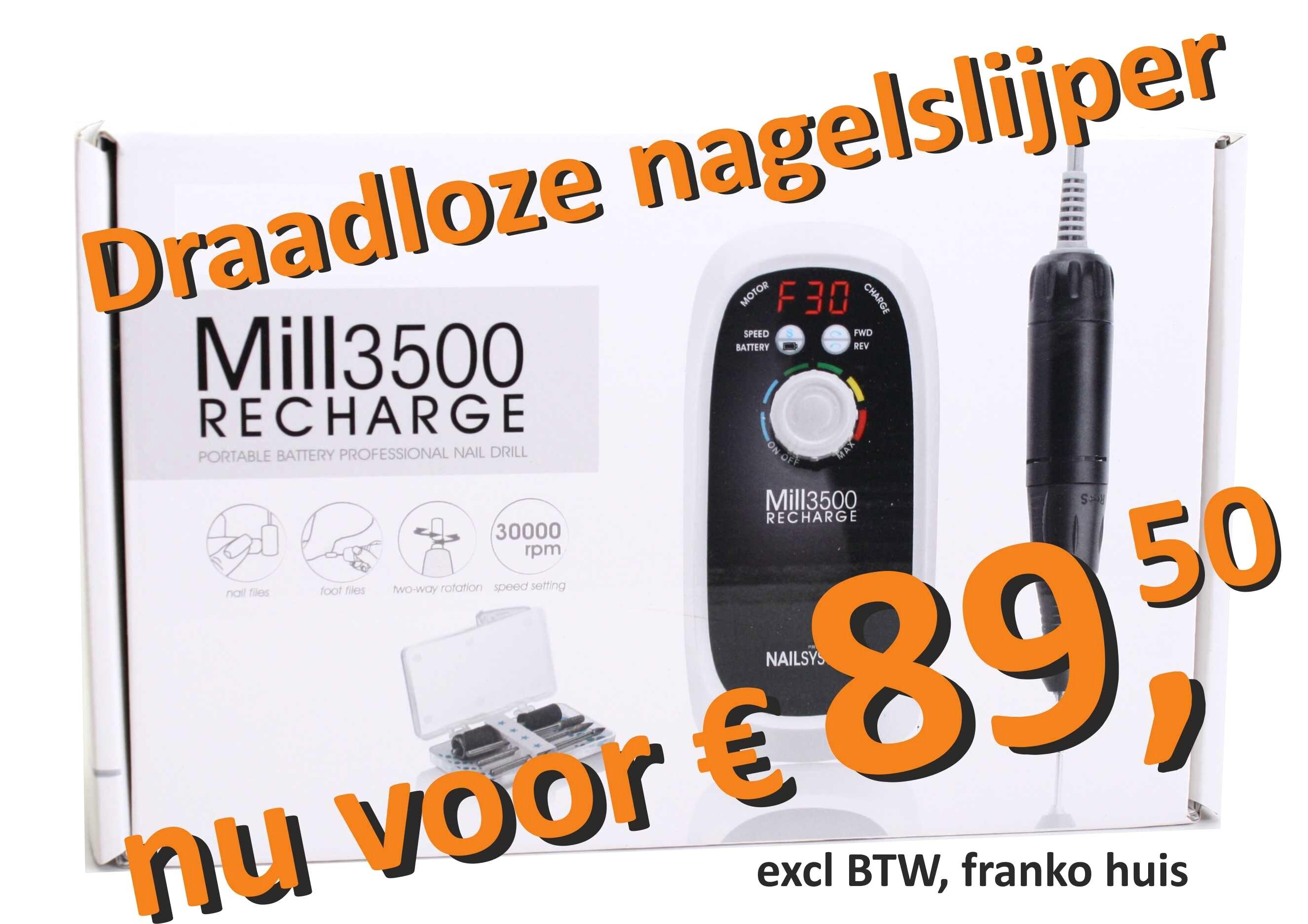 Draadloze nagelfrees voor slechts € 89.50