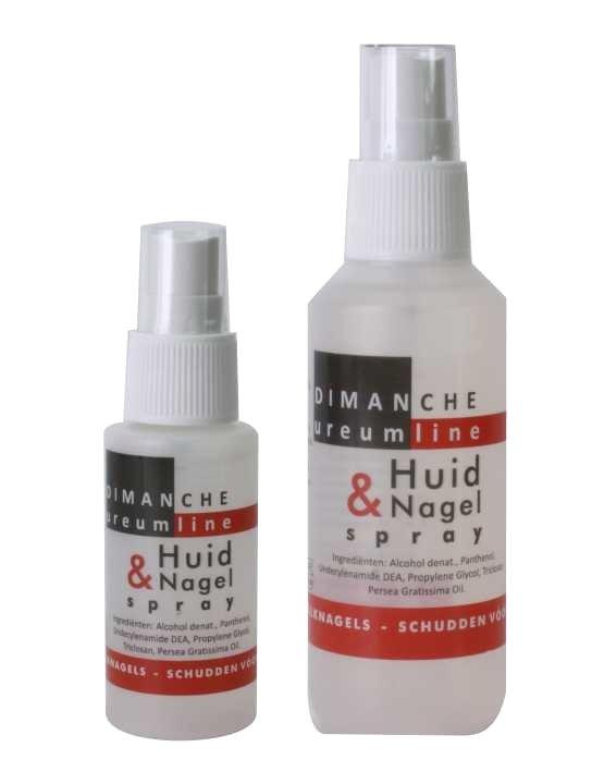 Huid en nagelspray, de beschermende fles voor in de sporttas