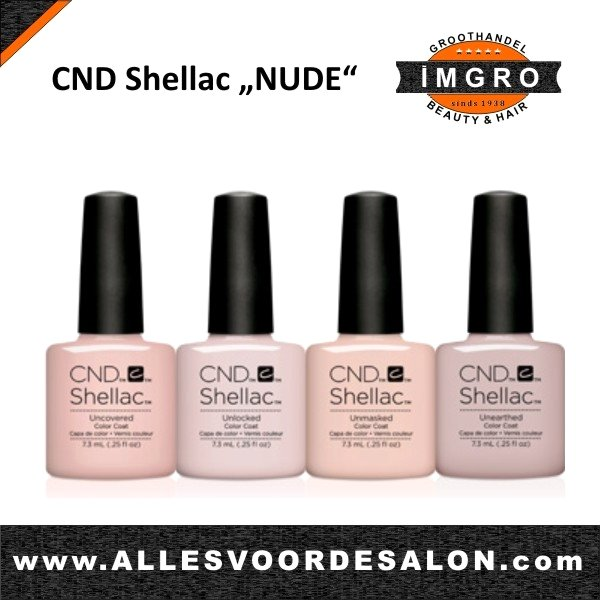 CND NUDE in Shellac en Vinylux doorslaand succes