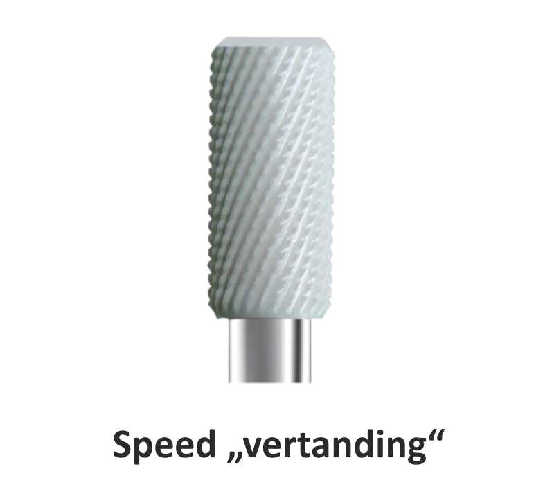 Keramische Frezen met speed vertanding